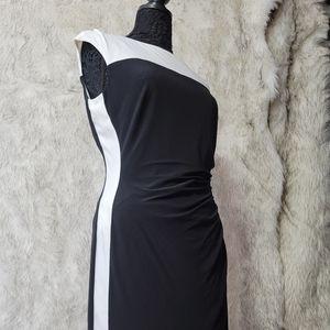 NWT Kalvin Klein Dress Flattering Slimming size 12